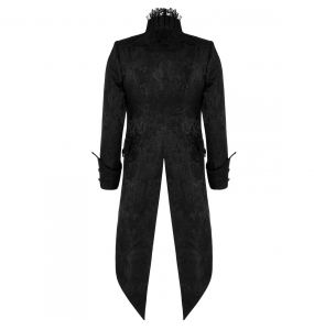 Black 'Versailles' Tailcoat