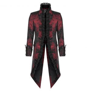 Red and Black 'Versailles' Tailcoat