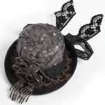 Steampunk 'Kraken' Mini Top Hat