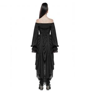 Black 'Duchess' Dress