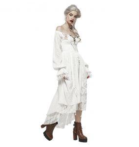 Robe 'Duchess' Blanche