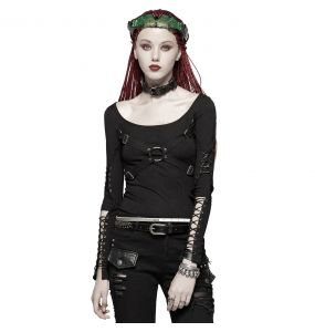 Black 'Ball Jointed Doll' Top