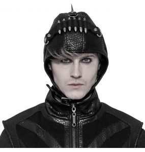Black 'Bunker Bomber' Aviator Hat