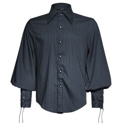 Blue Striped 'Edward' Shirt