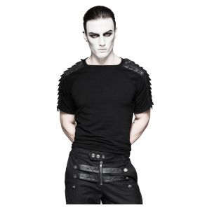Black 'Dracarys' Top with Removable Sleeves