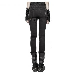 Black 'Cataclysm' Pants