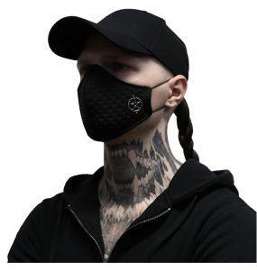 Black 'Stalker' Gear Face Mask