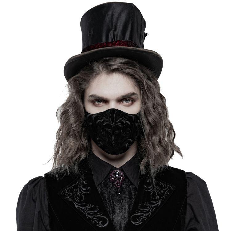 Black Velvet 'Hamlet' Face Mask