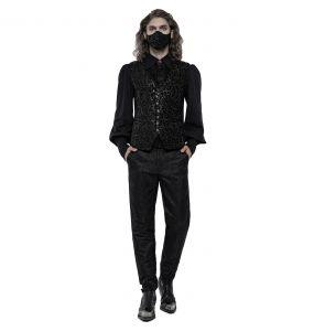 Masque 'Alchemist' en Jacquard Noir et Argent