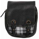 'White and Black Plaid' Kilt Bag