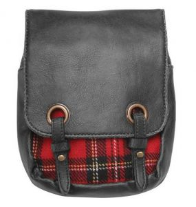 'Red Plaid' Kilt Bag