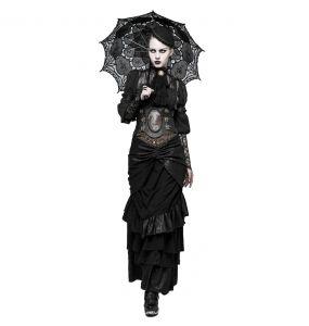 Serre-Taille Marron Foncé 'Dragon Lady'