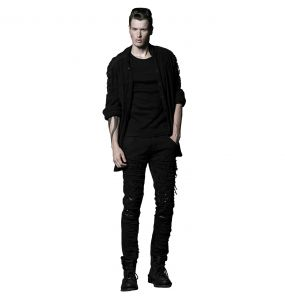 Pantalon 'Mad Max' Noir