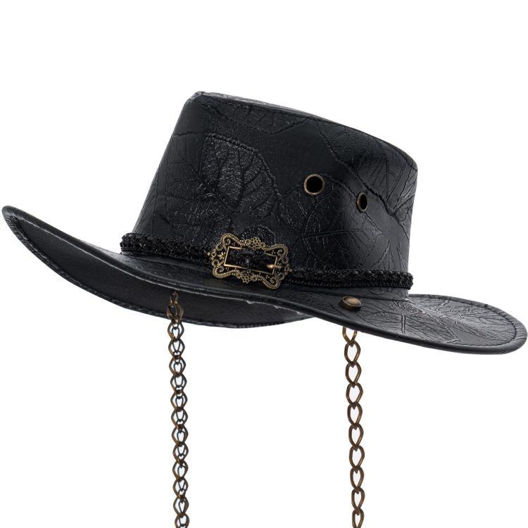Black 'Steam-Rider' Hat