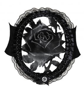Large Ceinture 'Black Rose'