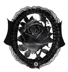 Large Ceinture 'Black Rose'