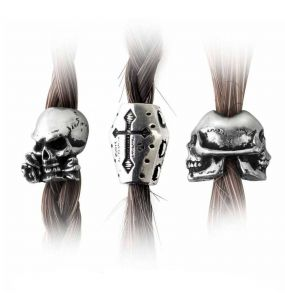 Perles 'Funereal' Barbe & Cheveux