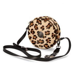 Leopard Round Shoulder Bag