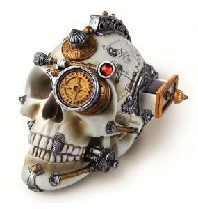 Crâne en Résine 'Erasmus Darwin's Steam-Cerebrum'