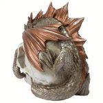 Resine 'Dragon Keeper's' Skull