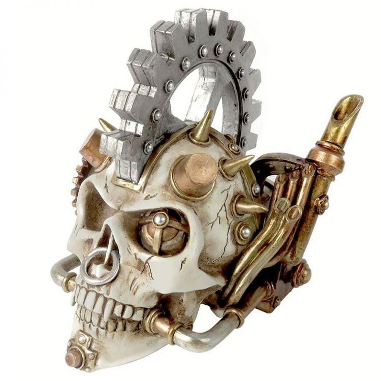 Resine 'Steam Head' Skull