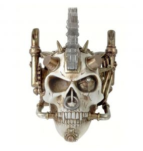 Resine 'Steam Head' Skull