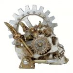 Crâne en Résine 'Steam Head' Skull