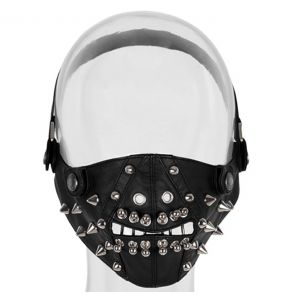 Black 'Warlock' Face Mask