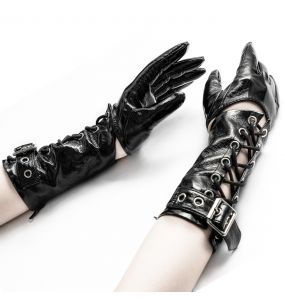 Women's Black 'Toxica' Gloves