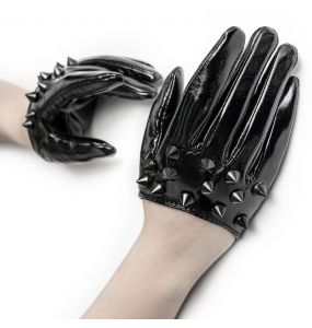 Women's Black 'Stiletto' Gloves