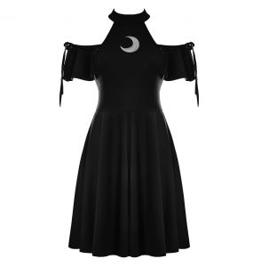 Black 'Moon Magic' Dress