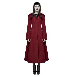 Red and Black 'Frozen' Hooded Winter Coat