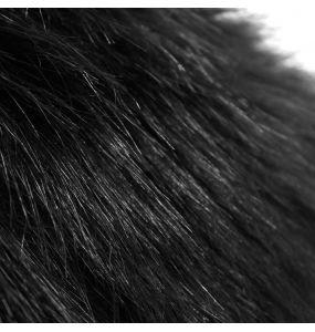 Veste d'Hiver à Capuche 'Soldier' Noire