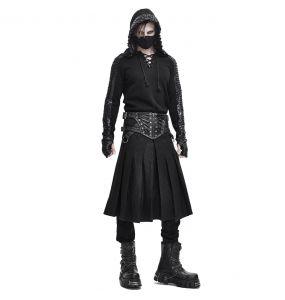 Jupe Kilt 'Altaïr' Noire