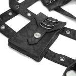 Black 'Altaïr' Harness Belt