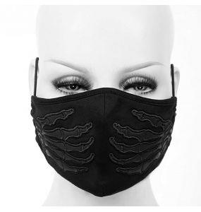 Black 'Dead Hands' Face Mask