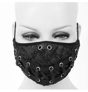 Masque 'Laced' Noir