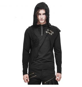 Black 'Altaïr' Hooded Sweater