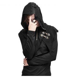 Black 'Templar' Hoodie Sweater