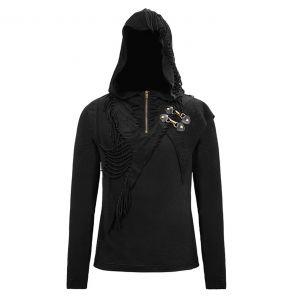 Black 'Altaïr' Hooded Sweater