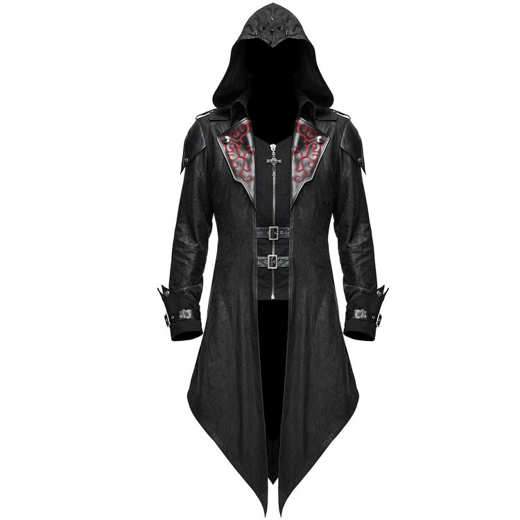 Black 'Assassins Creed' Hooded Jacket