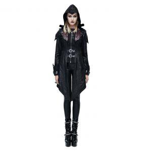 Black 'Assassins Creed' Females Hooded Jacket
