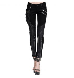 Pantalon 'Dark Punk' Noir