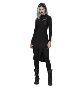 Black 'Ariadna' Long Shirt