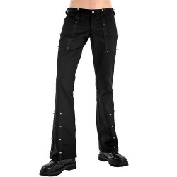 Black 'Princk Hipster Denim' Pants