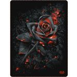 Couverture Polaire 'Burnt Rose' Imprimée Recto-Verso