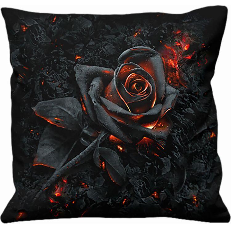Coussin 'Burnt Rose' Carré