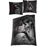Single Duvet Cover 'Dead Kiss' with Pillowcases