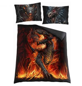 Double Duvet Cover 'Dragonis' with Pillowcases