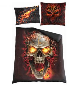 Double Duvet Cover 'Skull Blast' with Pillowcases